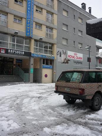 Hotel Les Fonts Andorra la Vella