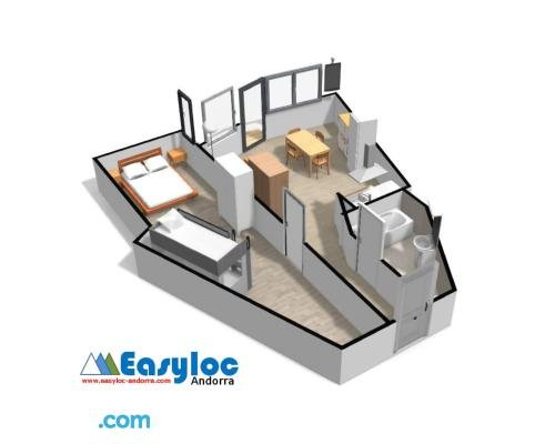 Easyloc Andorra Appartements Studios - Pieds De Pistes