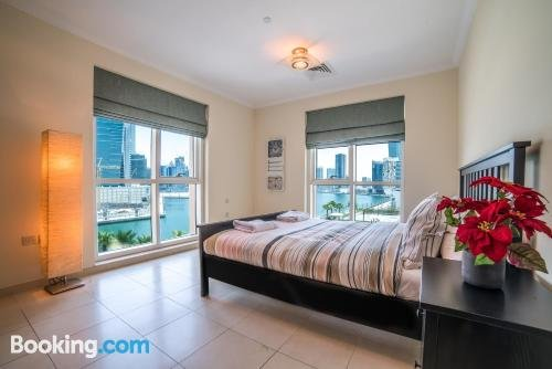 Bnbme- The Best 1 Br Apartment On The Canal Business Bay