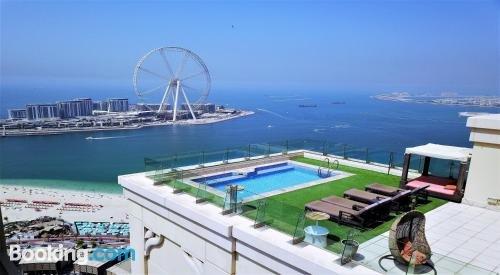 Dubai 5 Penthouse front sea 6 Bdr private pool