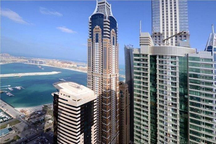 Wider View Torch Tower Dubai Marina