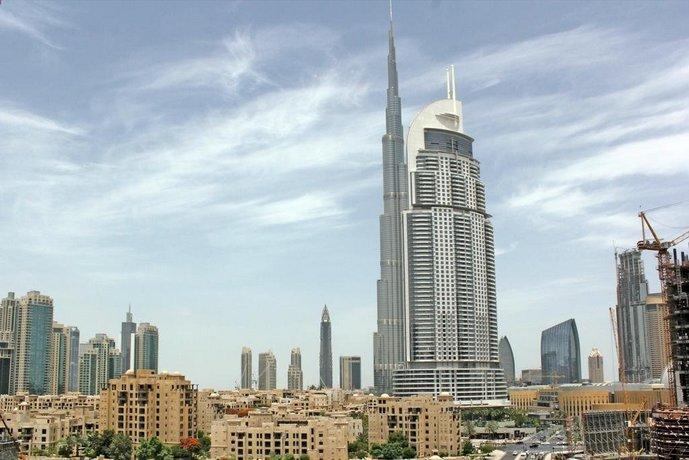 Wider View - Burj Al Nujoom Studio Apt