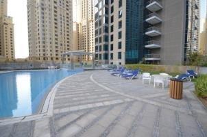 Marina Promenade Delphine Tower Dubai Marina 1Br Luxury Apt Sea View Hls 37921