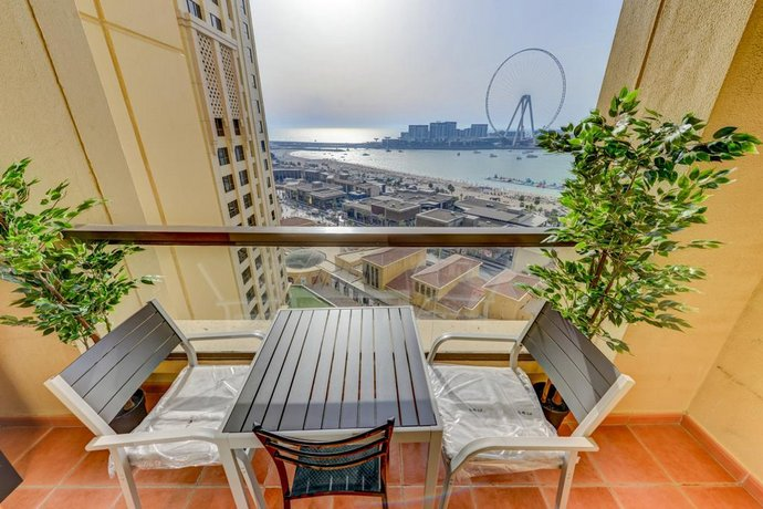 1 Br + Full Sea View + Luxury Living On The Beach