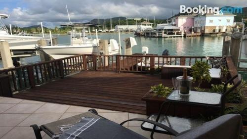 Serene Waterfront Villa