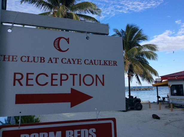 Ocean Front Condos The Club at Caye Caulker