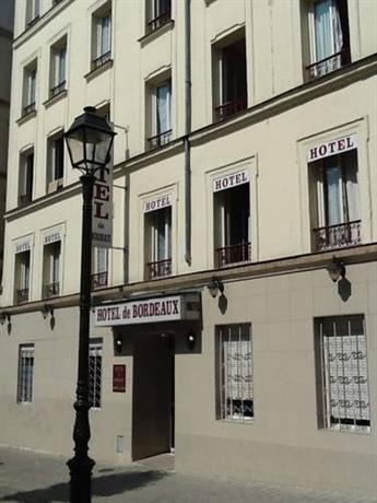 Hotel Paris Bordeaux Menilmontant