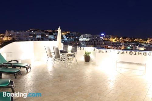 Beach House w/ BigTerrace & Sea View in Old Town Albufeira