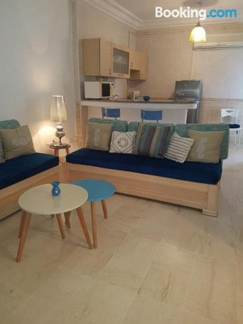 L'appartement bleu de la Marsa